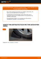 Πώς να αλλάξετε γόνατο ανάρτησης πίσω σε Audi A4 B5 Avant - Οδηγίες αντικατάστασης