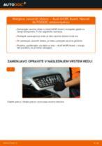 Vodič PDF po korakih za menjavo AUDI A4 Avant (8D5, B5) Zavorni kolut