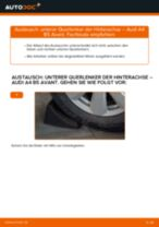 Auswechseln Axialgelenk Spurstange AUDI A4: PDF kostenlos