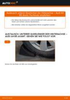 Wie Audi A4 B5 Avant unterer Querlenker der Hinterachse wechseln - Schritt für Schritt Anleitung