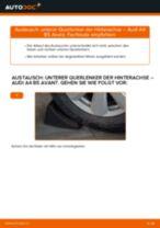 Wie Audi A4 B5 Avant unterer Querlenker der Hinterachse wechseln - Anleitung
