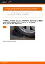 Jak vyměnit spodní ovládací rameno zadního zavěšení kol na Audi A4 B5 Avant – návod k výměně