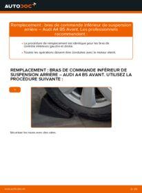 Comment effectuer un remplacement de Bras de Suspension sur 1.9 TDI Audi A4 B5 Avant