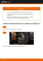 Stabilisatorstang veranderen VW CADDY: werkplaatshandboek