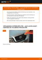 AUDI Q7 stapsgewijze handleidingen over onderhoud