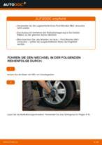 Radlager hinten selber wechseln: Ford Mondeo Mk3 Limousine - Austauschanleitung