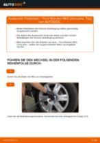 Federbein hinten selber wechseln: Ford Mondeo Mk3 Limousine - Austauschanleitung