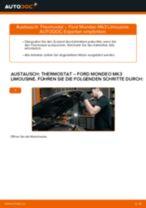 Thermostat selber wechseln: Ford Mondeo Mk3 Limousine - Austauschanleitung