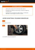 Udskift hjullejer bag - Ford Mondeo Mk3 sedan | Brugeranvisning