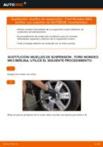 Cambio Muelles delanteras izquierda derecha FORD bricolaje - manual pdf en línea