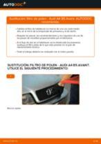 Cómo cambiar: filtro de polen - Audi A4 B5 Avant | Guía de sustitución