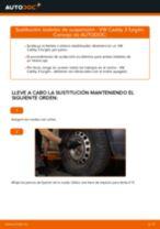 Instalación Travesaños barras estabilizador VW CADDY III Box (2KA, 2KH, 2CA, 2CH) - tutorial paso a paso
