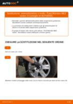 Come cambiare è regolare Kit ammortizzatori FORD MONDEO: pdf tutorial