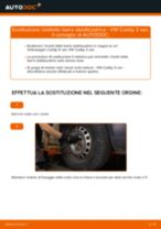 Cambio Pastiglie Freno anteriore e posteriore SSANGYONG Musso Grand: guida pdf