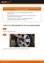 Online manual on changing Brake wear sensor yourself on Audi 90 B2