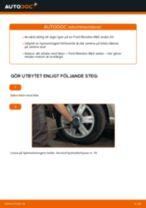 Byta hjullager bak på Ford Mondeo Mk3 sedan – utbytesguide