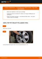 Byta fjäderben bak på Ford Mondeo Mk3 sedan – utbytesguide