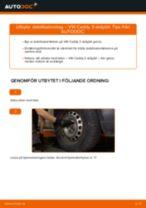 När byta Parkeringsbromsbelägg VW CADDY III Box (2KA, 2KH, 2CA, 2CH): pdf handledning