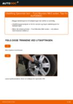 Hvordan bytte Bremsecaliper reparasjonssett Kia Sorento UM - guide online