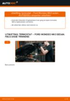 Veiledning på nettet for å skifte Fjærbein i FORD TRANSIT MK-7 Platform/Chassis selv