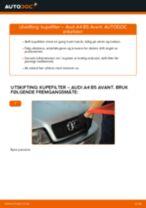 Bytte Klimafilter AUDI gjør-det-selv - manualer pdf på nett