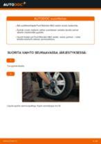 Kuinka vaihtaa pyöränlaakerit taakse Ford Mondeo Mk3 sedan-autoon – vaihto-ohje