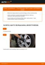 Kuinka vaihtaa joustintuki taakse Ford Mondeo Mk3 sedan-autoon – vaihto-ohje