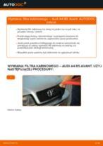 Jak wymienić filtr kabinowy w Audi A4 B5 Avant - poradnik naprawy