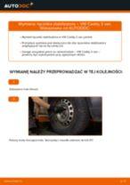 Montaż Drążek wspornik stabilizator VW CADDY III Box (2KA, 2KH, 2CA, 2CH) - przewodnik krok po kroku