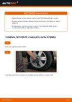 Jak vyměnit zadní ložisko kola na Ford Mondeo Mk3 sedan – návod k výměně