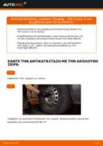 Μάθετε πώς να διορθώσετε το πρόβλημα του Ράβδος ζεύξης εμπρος δεξιά VW