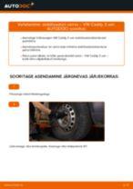 Samm-sammuline PDF-juhend Volvo C30 533 Mootorikinnitus asendamise kohta