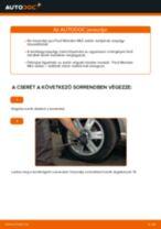 Hátsó kerékcsapágy-csere Ford Mondeo Mk3 sedan gépkocsin – Útmutató