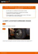 VW CADDY Stabilizátor összekötő cseréje : ingyenes pdf