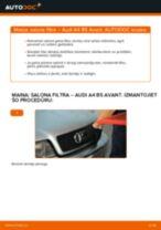 AUDI Q8 instrukcijas par remontu un apkopi