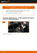 Instrukcijos PDF apie TRANSIT Custom priežiūrą