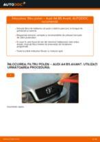 Cum să schimbați: filtru polen la Audi A4 B5 Avant   Ghid de înlocuire