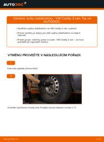 Jak provést výměnu: Zkrutna tyc na 1.9 TDI VW Caddy 3 Van