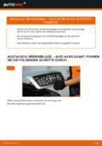 Installation von Bremssteine AUDI A4 Avant (8D5, B5) - Schritt für Schritt Handbuch