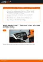 Audi A3 8l1 Amortizators sostituzione: tutorial PDF passo-passo