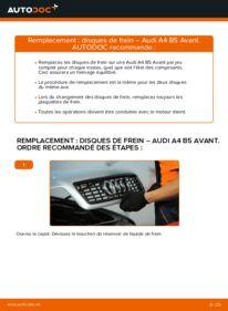 Comment effectuer un remplacement de Disques De Frein sur 1.9 TDI Audi A4 B5 Avant