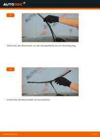 Wie der Wechsel durchführt wird: Scheibenwischer 1.6 (L35) Astra H Caravan tauschen