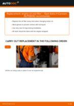 Oil filter OPEL Astra H Caravan (A04) | PDF replacement manual