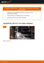Verkstadshandbok för Opel Astra h l48