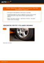 Byta fjäderben fram på Opel Astra H Caravan – utbytesguide