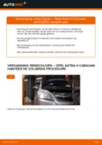 Hoe remschijven vooraan vervangen bij een Opel Astra H Caravan – vervangingshandleiding