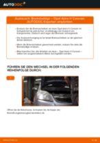 Bremsbeläge vorne selber wechseln: Opel Astra H Caravan - Austauschanleitung