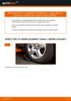 Montage Coupelle de suspension OPEL ASTRA H Estate (L35) - tutoriel pas à pas