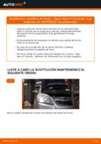 Cambiar Pastillas De Freno OPEL ASTRA: manual de taller