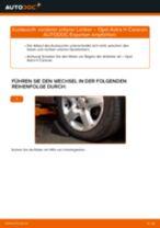 Wie Opel Astra H Caravan vorderer unterer Lenker wechseln - Schritt für Schritt Anleitung